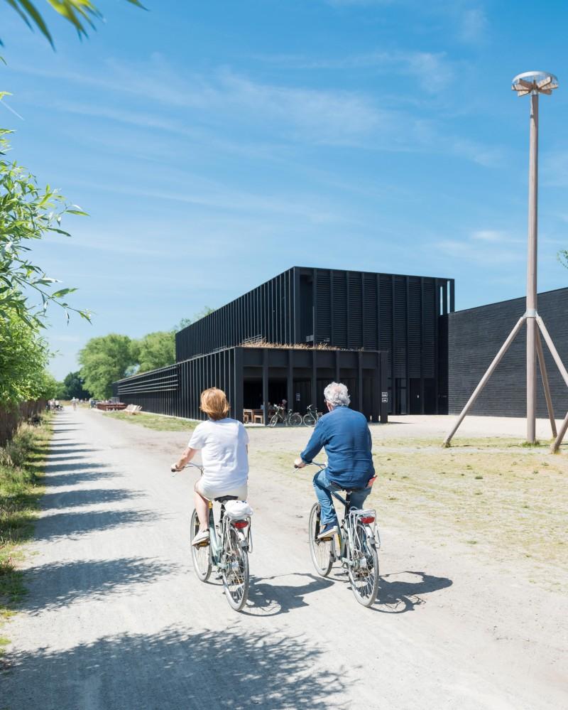Met de fiets naar het Zwin Natuur Park